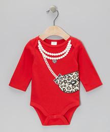 Wholesale Doomagic Rompers - Retail -New 2014 doomagic Rompers Body Suit Baby One-Piece Rompers Long Sleeve Romper Onesies hot sale girl's Lady romper-DZY772H