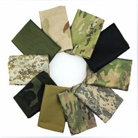 Wholesale Desert Camo Scarf - Tactical Military Windproof Shemagh Desert ARAB Scarves Hijabs Scarf Cotton Outdoor Desert Camo ACU CP camouflage Pattern 100pcs DHL Free