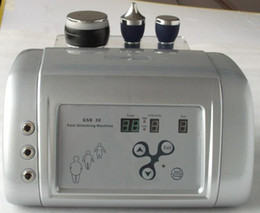 Wholesale Ultrasonic Cellulite Reduction Cavitation - portable 3 probes home use slimming 40K ultrasonic cavitation cellulite reduction ultrasound skin rejuvenation beauty device
