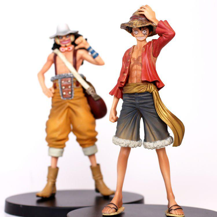 One Piece Luffy & Usopp After 2 Years Action Figure Toy