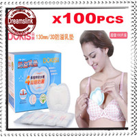 Wholesale Monitor Covers - Wholesale-3D Disposable Nursing Pad Mother Breastfeeding Bra Top Cover Monitor Baby Safe Breast Feeding Maternity 100pcs