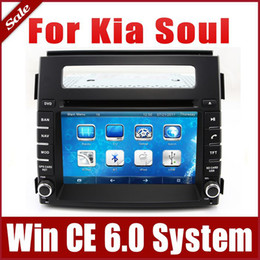 Wholesale Kia Soul Inches - 2-Din Car Radio Car DVD Player GPS Navigation for Kia Soul 2012-2013 with Navigator Bluetooth TV Map USB SD AUX Audio Video Multimedia