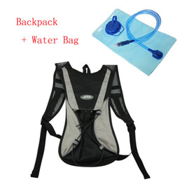 Wholesale Water Bag For Cycling - Free Shipping Bicycle Backpack + 2L Food Grade Water Bag Outdoor Water Bladder Bag for Sport Running Cycling Hiking