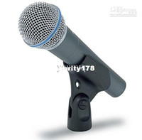 Wholesale microphone conference meeting - Wholesale - DHL Free Shipping Professional wired dynamic Microphones for KTV meeting On-stage Performance
