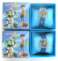 Wholesale Toy Story Watches Wholesale - new hot Pixar Toy Story 3 Cartoon 10 pcs Watch kid wristwatch Children watcht
