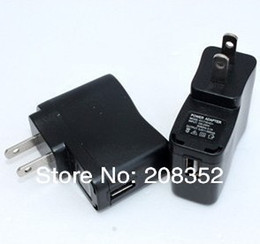 Usb Ac Dc Adapter Canada - 50PCS Black EU Plug AC Power 100-240V  DC USB Charger Adapter Power Supply For All Type Cellphone Free Shipping