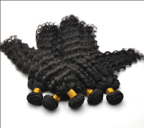 Regina indiana Virgin Remy Water Wave ricci onda profonda colore naturale trama dei capelli 10