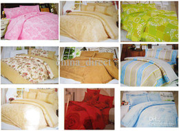 Wholesale Wholesale Dry Cleaner Bags - Queen size cotton Bed Quilt Cover Set Bedding Set bed sheets Bedspreads Coverlets bed-in-a-bag #1353
