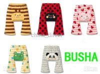 Wholesale Busha Wholesale - Busha Pant Baby Pant toddler boy girl Short Leggings Tights PP pants 20pcs lot 100% cotton