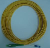 Wholesale Upc Apc - Fiber Optic Patch cords LC UPC-SC APC Singlemode Simplex G657A2 2mm 10M Free Shipping