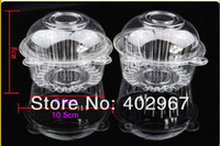 Plastic blister material - BOPS Material Blister transparent Cake Mooncake boxes Clear Cupcake Cookie packaging Cases