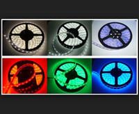 rgb levou luz única venda por atacado-venda por atacado Luz de Tira CONDUZIDA 3528/5050 SMD RGB / Branco / Quente / Verde / Vermelho À Prova D 'Água / não À Prova D' Água 300 LEDs 3000 LM Cor Única Flexível