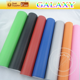 Wholesale Vinyl Wholesalers China - High Quality Free Shipping for 152cmx30cm 3D Carbon Fiber Vinyl Wrap Stickers With Bubble Free Free Shipping By China Post Air Mail