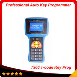 Wholesale Audi Makers - V14.2 T-code T300 AUTOMAN Key Programmer T300 Auto Key maker Spanish English T300 transponder key programmer free shipping