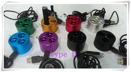 Wholesale Electronic Cigarette Tray - 2014 4 Type Electronic cigarette holder display base metal eGo Holder Charger Vape Tray Colorful For eGo-t,evod,eGo-Q battery DHL Free