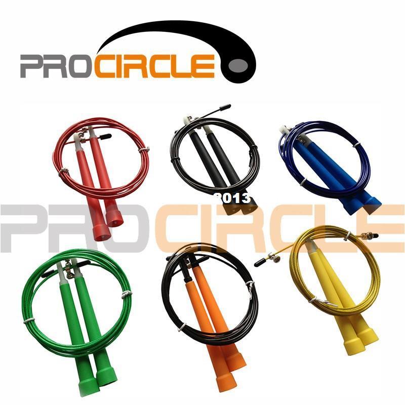crossfit steel wire speed jump rope