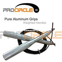 cabos de salto venda por atacado-Frete Grátis Crossfit New Coming Aço Grip Cable Wire Velocidade Pular Corda