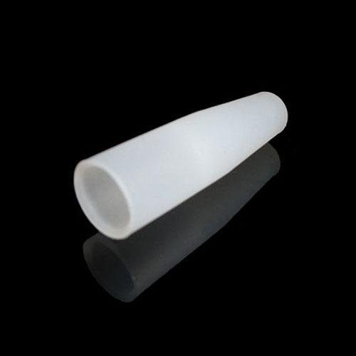 Fabrikspris Individuellt paket Test Dropptips 40mm Testhål Tips E Smoker Testning Silikonmunstycke för CE4 MT3 T2 T3S Ego Atomizer