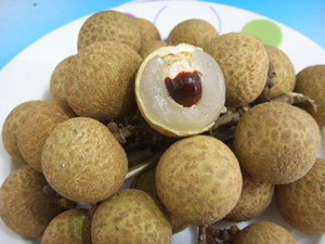 Fresh Longan Fruit Seeds, Longan Seeds, Plump And Juicy, 15 Longan seeds, free shipping