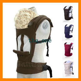 Wholesale Breathable Mesh Design Summer baby sling carrier Toddler wrap Ride Multi functional Kdis outwards cotton inwards backpack EMS FREE