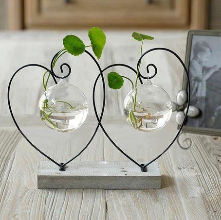 Acquista vaso di legno vasi di fiori decorazione della for Decorazione vasi