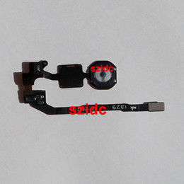 Replacement numbeR online shopping - Original New Home Button Key Flex Cable Replacement Repair Part for iPhone S With Tracking Number
