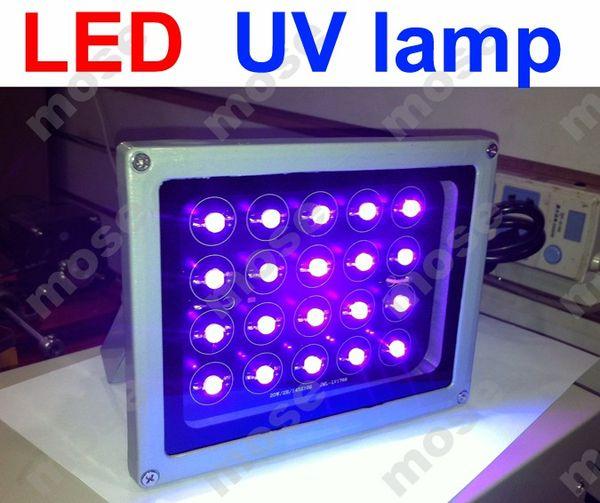 100% de trabajo Lámpara LED profesional UV ULTRAVIOLETA LOCA Glue UV GEL Lámpara de curado Ultravioleta (ultravioleta) para digitalizador de pantalla Reparación de LCD 4pcs
