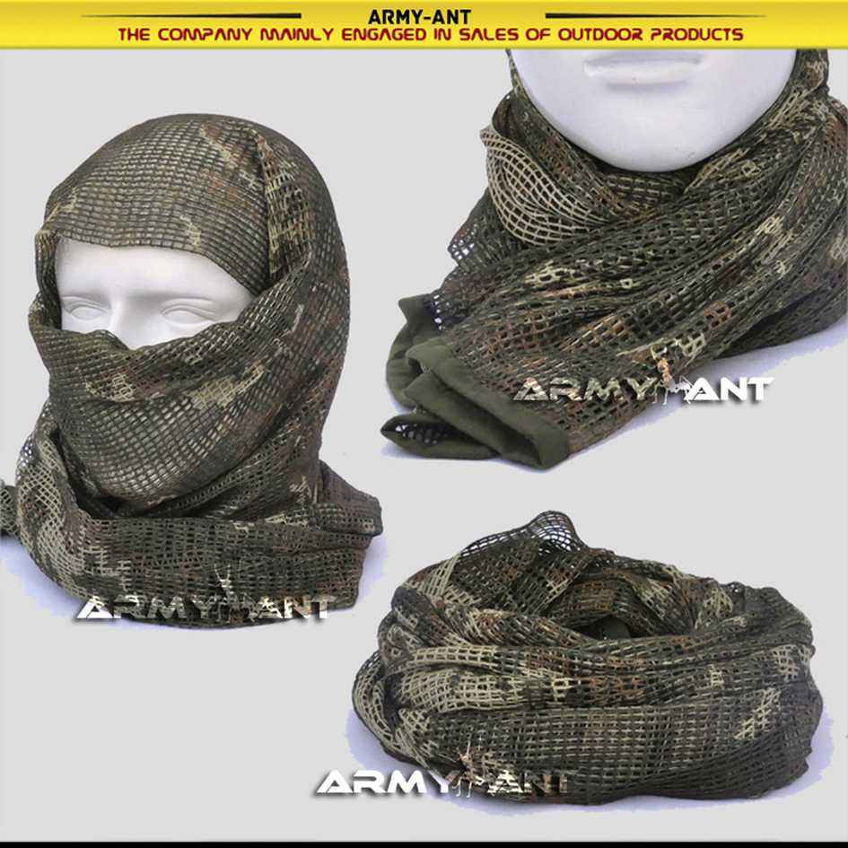 Russian Yeger Woodland Camo Camouflage Netting Tactical