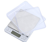 Wholesale Weigh Platforms - Brand New 500g 0.01g Mini Digital Platform Jewelry Scale 500g-0.01 Weighing Balance Scale with Two Trays g ct dwt ozt oz gn