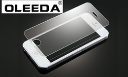 Wholesale Glass Screen Protector Iphone5 - Tempered Glass screen protector for iphone5 100pcs lot