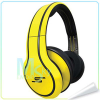 Wholesale Sms Street Dj - 2013 NEW 50 cent headphones Street by 50 Cent SMS Audio Sync by 50 Cent Over-Ear Wired Stereo DJ Headphones 002142