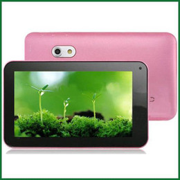 Discount dual core a23 tablet - Wholesale - Freeshipping 7 inch Android 4.2 Allwinner A23 Dual Core Tablet PC Capacitive Dual Camera Flashlight WIFI 512