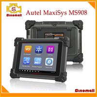 Wholesale Autel Ds - 100% Original AUTEL MaxiSys MS908 MS 908 integrated Diagnostic System OBDII OBD2 auto diagnostic scanner DS 708 update vesion
