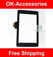 Wholesale Asus Google Nexus Digitizer - For Asus Google Nexus 7 Touch Screen Digitizer Panel Repair Replacement 1PC Lot Free Shipping