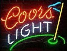 "Wholesale Coors Light Signs New - N8 -coors Light glass neon sign beer neon signs pub bars neon light new 17""-33"""