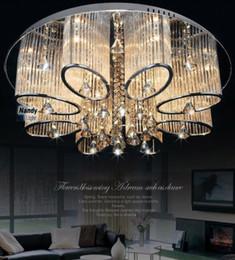 2019 luzes de tira led comercial Promoção! Iluminação de cristal moderna do candelabro do dispositivo elétrico da lâmpada do teto da sala de visitas