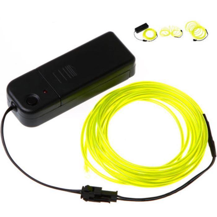 3 M Elastyczne Neon Light Glow El Wire Lina Tube Car Dance Party + Controller do dekoracji świątecznych