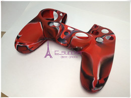Wholesale Ps4 Silicone Skin - Best quality New Soft Silicone Protective Sleeve Case Skin Cover for PlayStation 4 PS4 Xbox one Controller E_supplier via epacket on sale