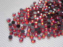 10SS 2.8 MM Crystal Strass DMC Hot Fix Rhinestone Hierro en Hotfix Stones Deep Dark Siam AB SS10