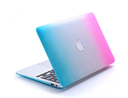Wholesale Crystal Laptop Cases Apple - Dazzle colour Matte Hard Rubberized Case Cover Protector for Apple Macbook Air Pro with Retina 11 13 15 inch Laptop Crystal Cases Free
