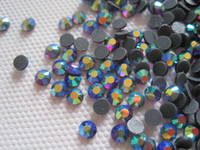 Wholesale Hotfix Ss16 Amethyst - 16SS 4MM DMC HotFix Crystal Strass Rhinestone Iron-On Amethyst AB Hot Fix Glass Stones SS16