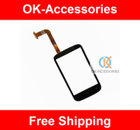 Wholesale Desire C - For HTC Desire C A320 Touch Screen Digitizer Panel Repair Replacement 20PC Lot