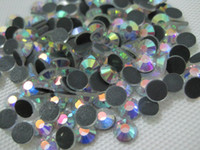 Wholesale Metal Hotfix - DMC 30ss 6.5MM Flat Back Hotfix Rhinestone Crrystal AB Finely Processed Hot Fix Loose Stones Limit Preferential SS30
