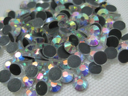 Wholesale Easter Flat Backs - DMC 30ss 6.5MM Flat Back Hotfix Rhinestone Crrystal AB Finely Processed Hot Fix Loose Stones Limit Preferential SS30