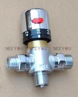 Wholesale Shower Head For Wall - Brass Thermostatic Mixer Shower Valve for Bidet Sprayer Shower Head Douche Kit