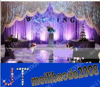 Wholesale Free Purple Backgrounds - free shipping wedding backdrop curtains party background purple MYY8985