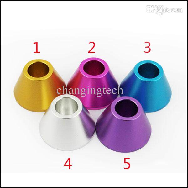 Electronic Cigarette Battery Display Stand E Cig Holder Colorful E Cigarette Metal Stands E Cigs Batteries Ego T Battery Case