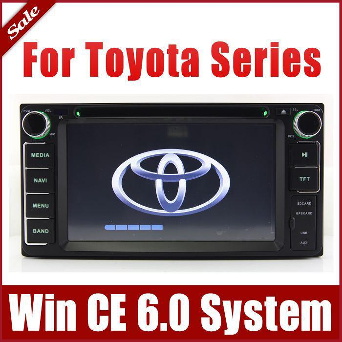 Auto Radio Car Dvd Player For Toyota Rav4 Corolla Camry