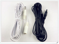 Wholesale Cord Cctv - 50 x 4M DC Extension Power Cord Cable 2.1mm   5.5mm Male Female CCTV Printer Extender Free Shipping by Fedex