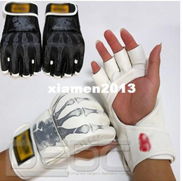 Wholesale Grappling Gear - FREE SHIPPING High Quality Grappling MMA Gloves Boxing Sanda Fight Ultimate Sparring Punch